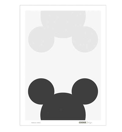 Cooee Design Plakat 50x70 Mouse Remix