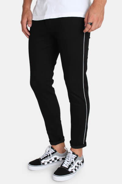 Just Junkies Max Tux Jeans Black
