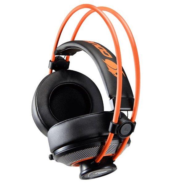 Cougar Immersa Over-Ear Gaming Headset Med Mikrofon - Orange Sort