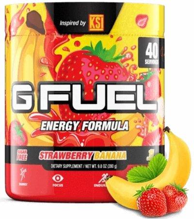 G Fuel - Jordbær Og Banan Smag - 40 Portioner