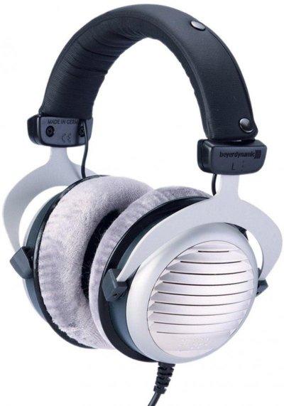 Beyerdynamic Dt 990 Høretelefoner / Hovedtelefoner 250 Ohms - Grå Og Sort