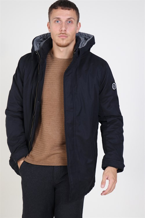 Only & Sons Ethan XO Parka Jakke Black