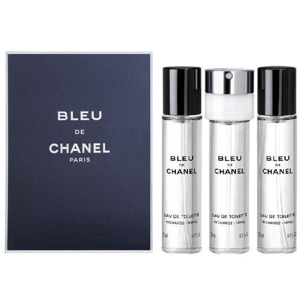 Chanel Herreparfume - Bleu De Chanel Edt 3X20 Ml