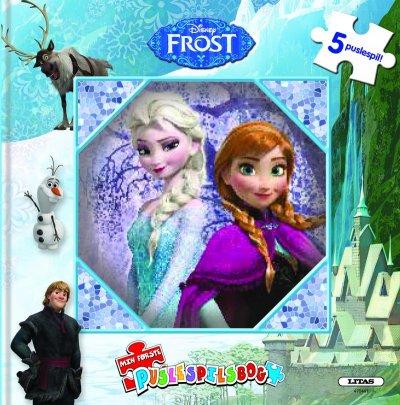 Disney Frost Puslespilsbog