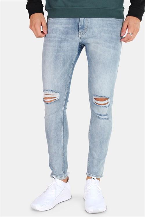 Just Junkies Max Jeans Lab Blue Holes