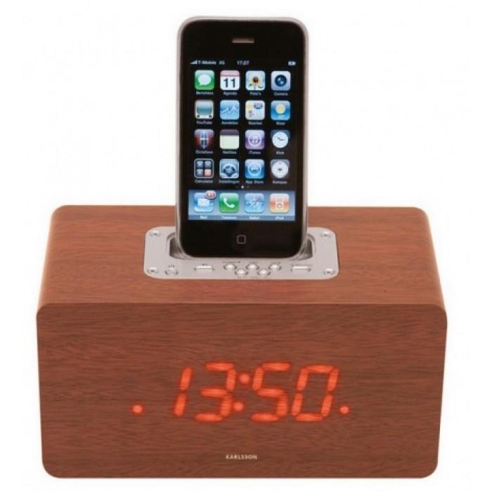 Alarm ur med ipod docking