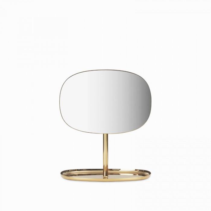 Normann cph flip spejl (34,5x28x19,5 cm/messing)
