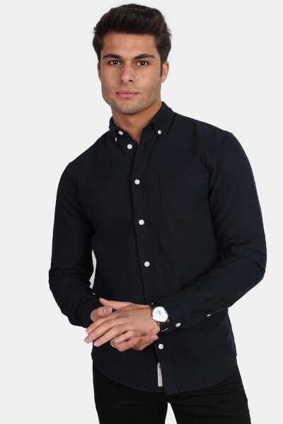 Minimum Jay 2.0 Skjorte Navy Blazer