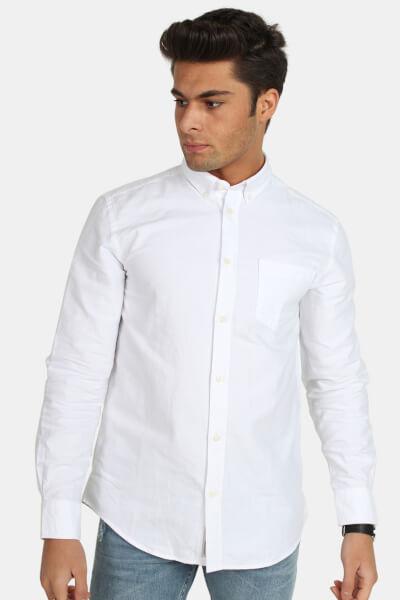 Minimum Jay 2.0 Skjorte White