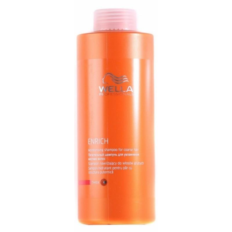 Wella Enrich Moisturising Shampoo Kraftig 1000 ml (u. pumpe) (gl. design)