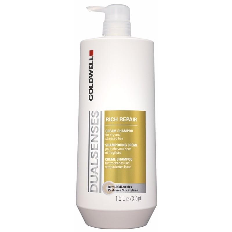 Goldwell Dualsenses Rich Repair Cream Shampoo 1500 ml (gl. design)