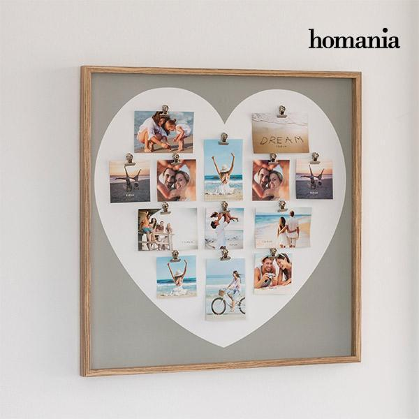 Homania Heart Fotoramme med Klemmer (13 fotos)