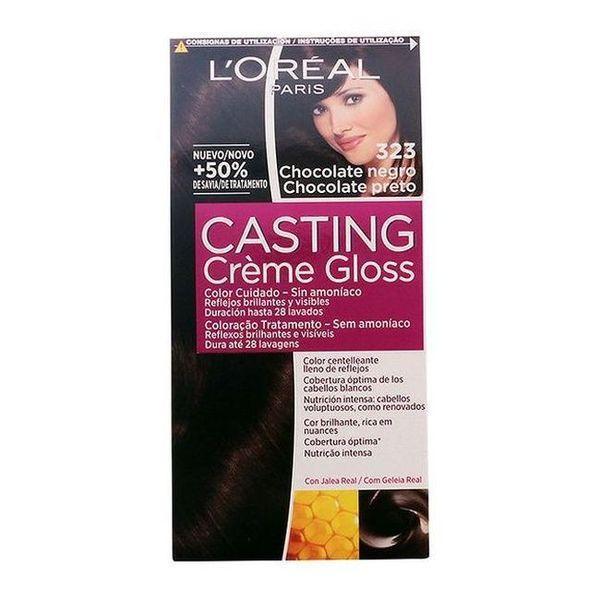 Farve uden Ammoniak Casting Creme Gloss LOreal Expert Professionnel Mørk chokolade