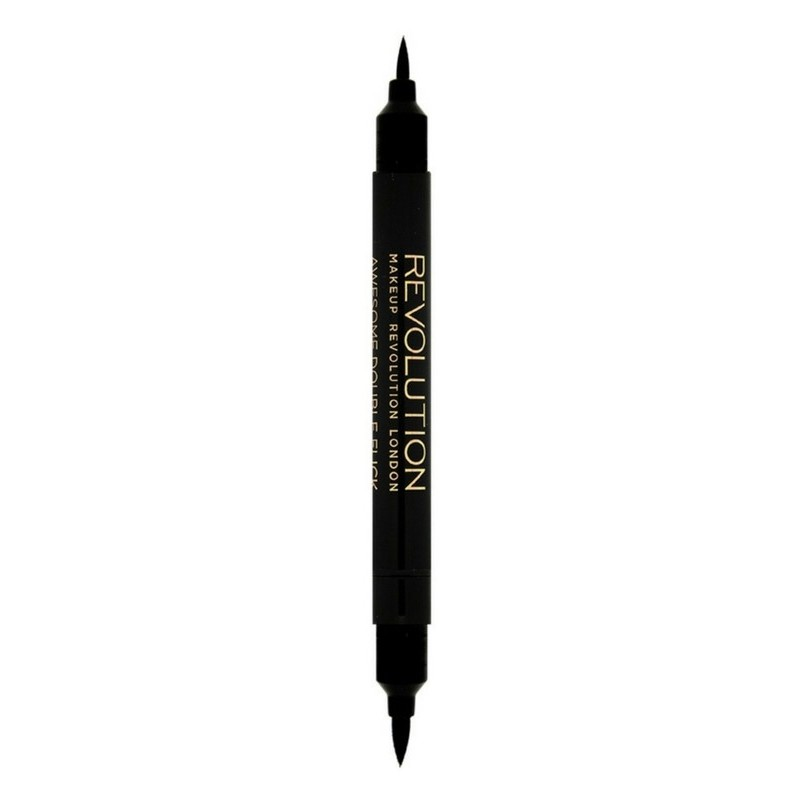 Makeup Revolution Double Flick Liquid Eyeliner 1 gr. - Black
