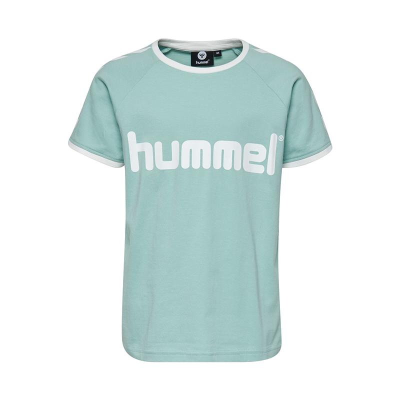 Hummel Moby t-shirts 202280 A (Aqua Haze 6613, 116)