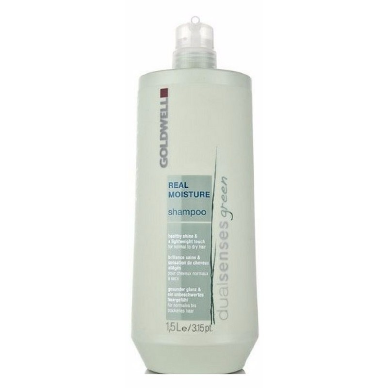Goldwell Dualsenses Green Real Moisture Shampoo 1500 ml (gl. design)