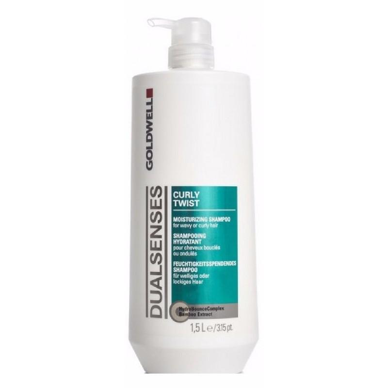 Goldwell Dualsenses Curly Twist Moisturizing Shampoo 1500 ml (gl. design)