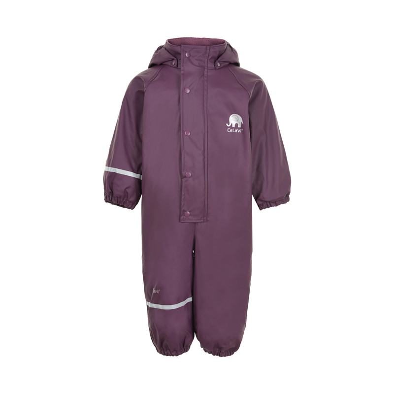 CELAVI REGNDRAGT M. FLEECE 310189 B (Blackberry Wine 6660, 80)