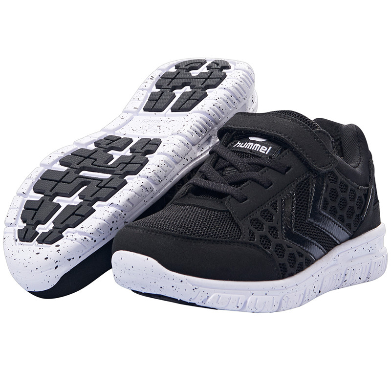 HUMMEL CROSSLITE TEX SNEAKERS 60519 (Black/Black 2042, 31)