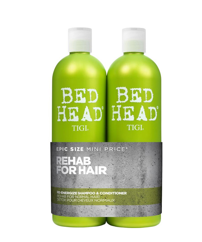 Tigi Bed Head Urban Antidotes Re-Energize Shampoo og Balsam 2 x 750 ml