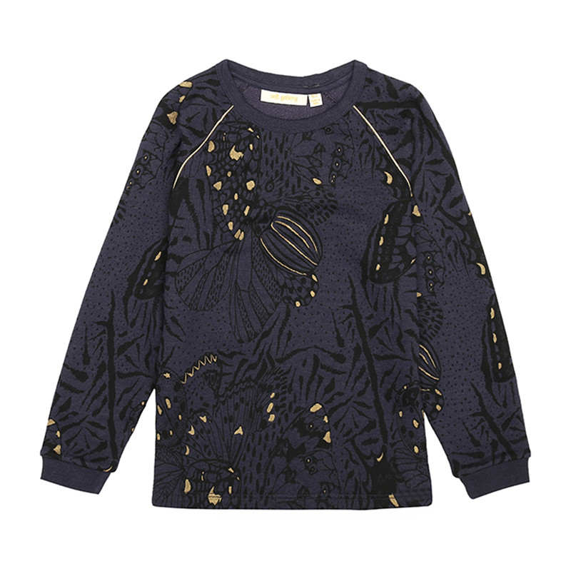 Soft Gallery SIGNE SWEATSHIRT 232-470-763 (Outer Space, 4Y)