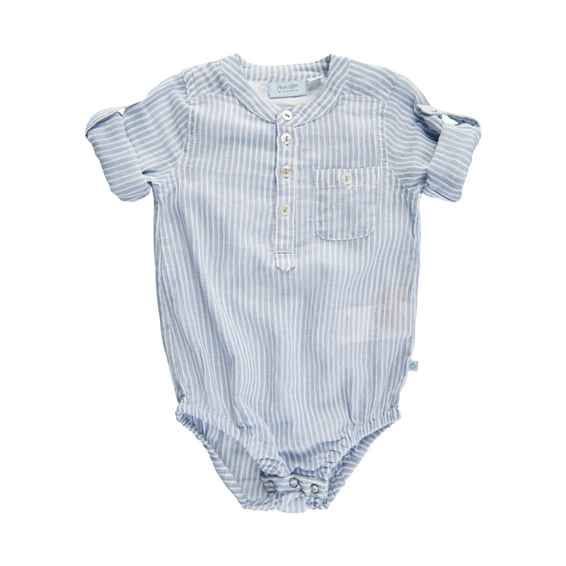 NOA NOA BODY 2-4563-1 00580 (Blue, 18M)