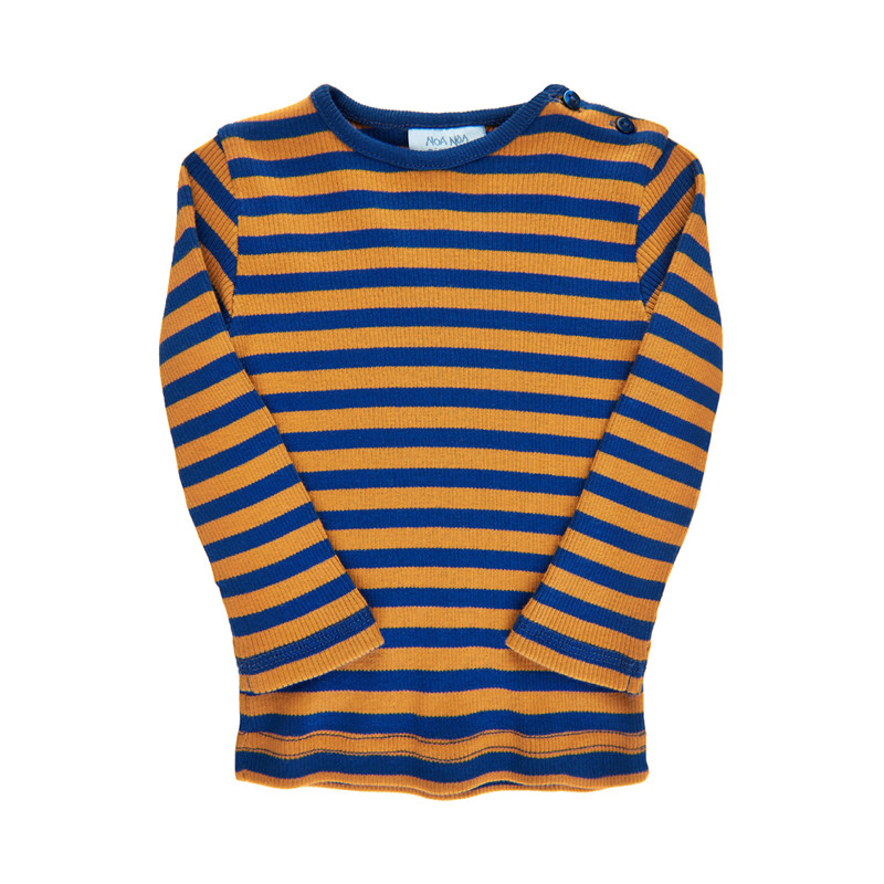 NOA NOA T-SHIRT 2-3743-8 00579 (Blue, 3M)