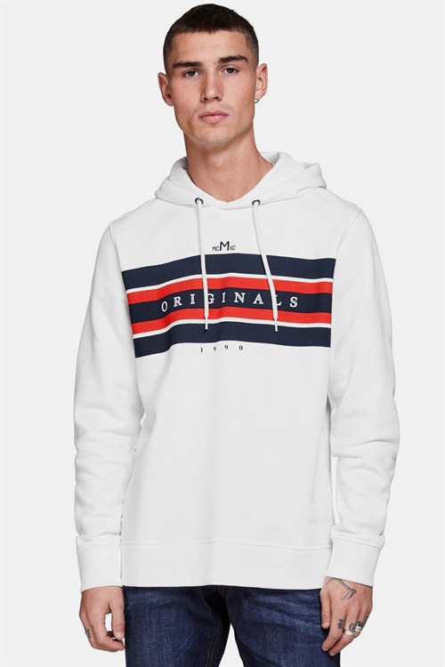 Jack & Jones Rantwon Sweat Hoodie Cloud Dancer