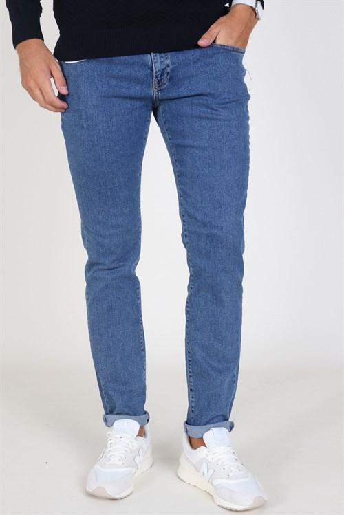 Woodbird Matti Stone Jeans Stone Blue