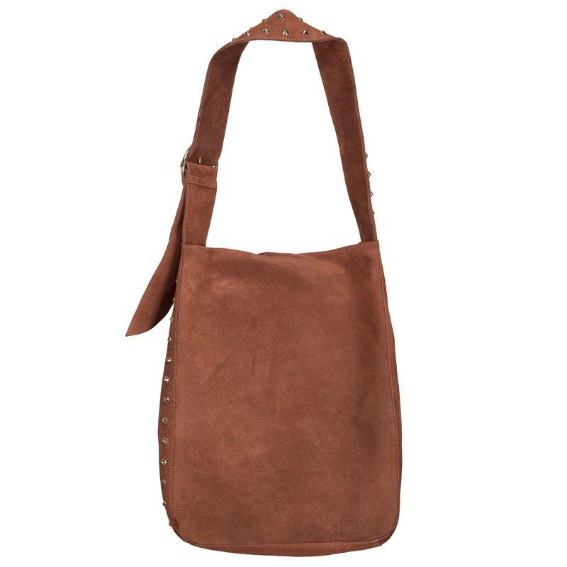 2bb2d2d750e NYT, Rose brown suede bag - S191941 fra Sofie Schnoor