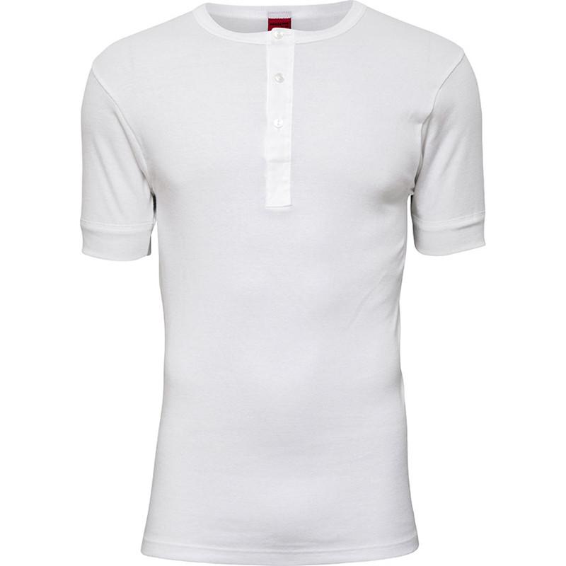Proactive Grandad T-shirt Hvid