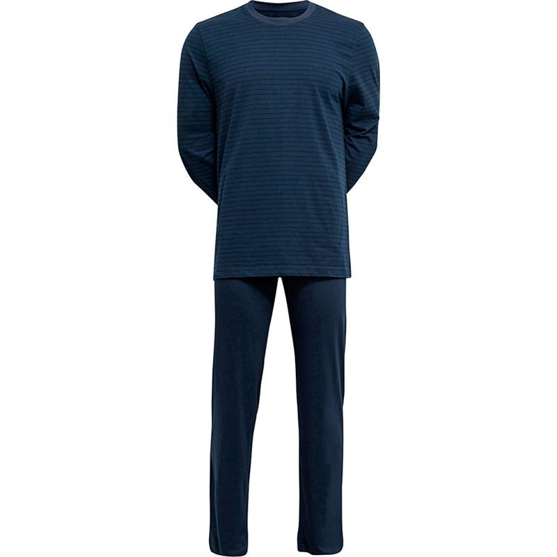 Jbs Pyjamas Blå Med Sorte Striber