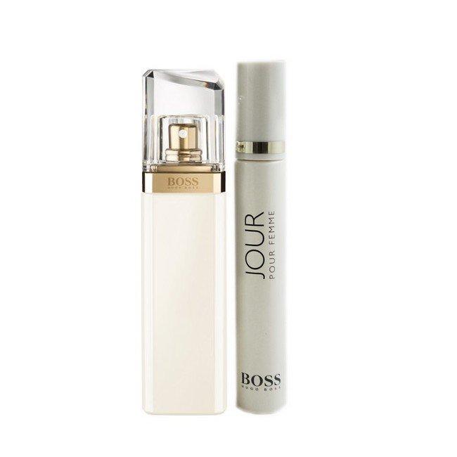 Boss Jour Pour Femme Sæt - 50 ml Edp - 7,4 ml Travel Spray