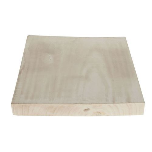 Wooden Plate Square