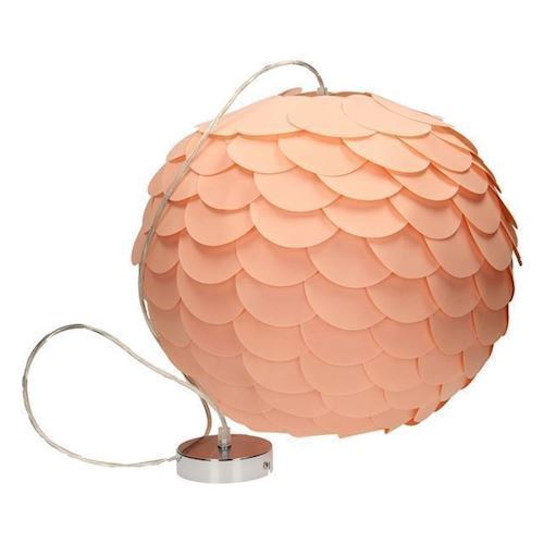 Hanging lamp Salmon color, 52cm