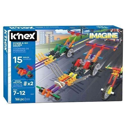 Knex byggesæt, racer køretøjer, 166 dele
