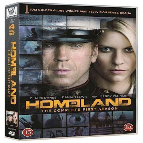 Homeland Sæson 1 DVD