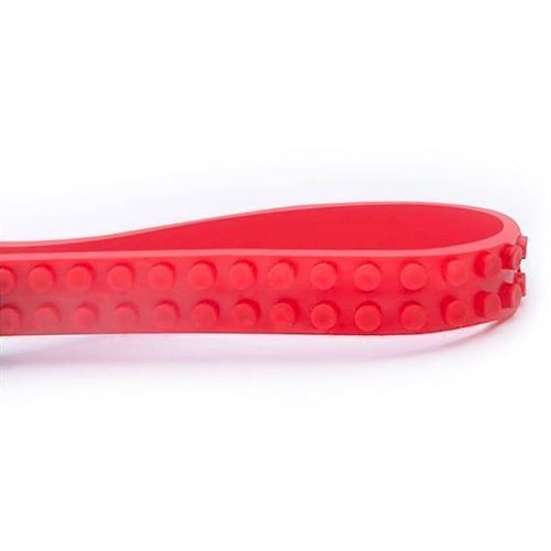 Mayka klods tape, 2 knopper, 1 meter, rød