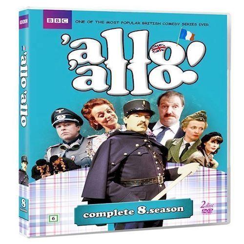 Allo Allo Sæson 8 DVD