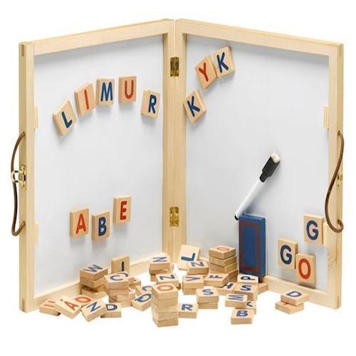 Krea alfabet whiteboard og tavle