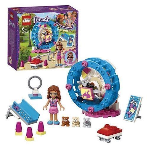 LEGO Friends 41383 Olivias hamster legeplads