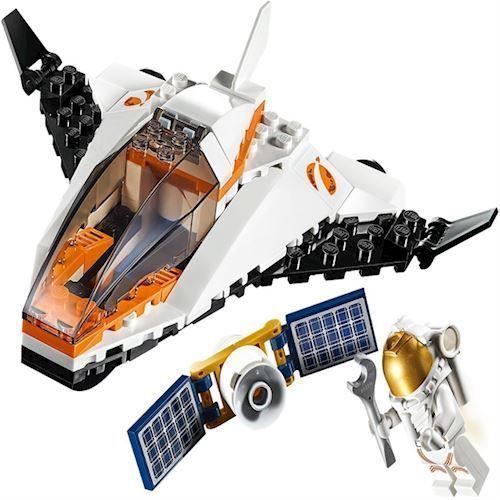 Lego City 60224 satelit service mission