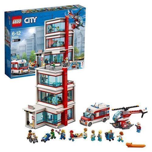LEGO City 60204 by hospital
