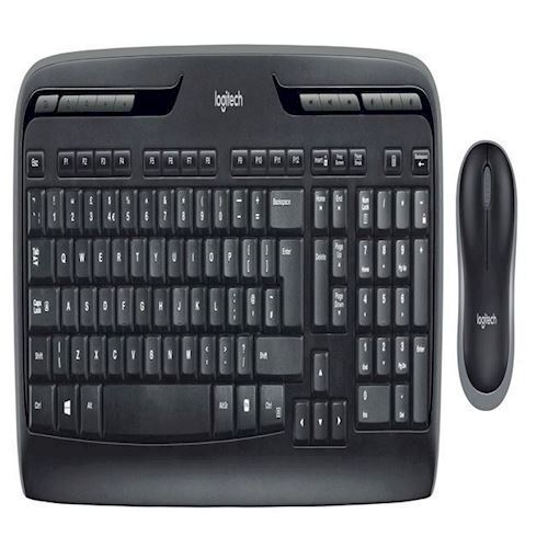 Logitech - Wireless Combo MK330 Mus & Tastatur