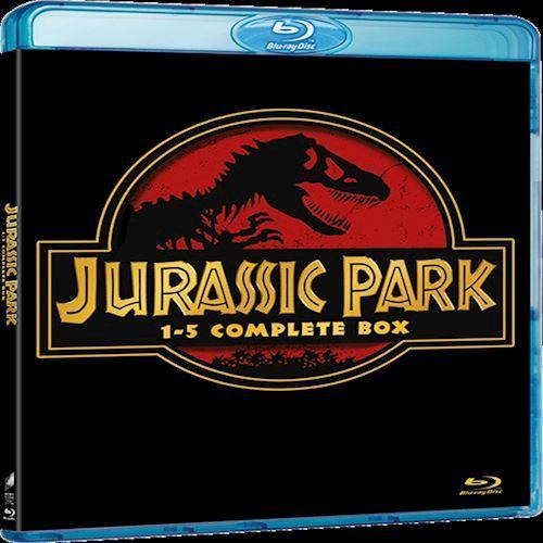 Jurassic park box 1-5 DVD