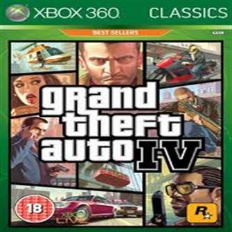 Grand Theft Auto IV GTA 4, Xbox 360