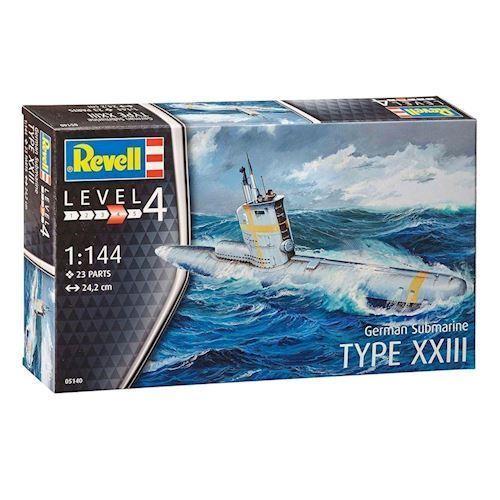 Revell Byggesæt German Submarine Type XXIII