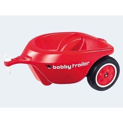 Big New Bobby car trailer 40cm rød