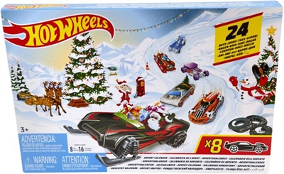 Hot Wheels Julekalender 2019, FYN46
