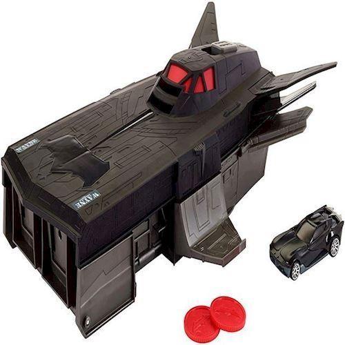 Hot Wheels - DC Justice League - Batmans Tranformerende Flying Fox køretøj (FCF34)